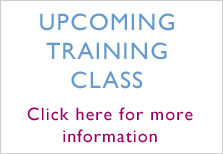 Upcoming Training Class
