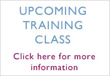 Upcoming Training Class